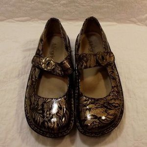 ALEGRIA Women's nursing shoes, Leather upper, EU37